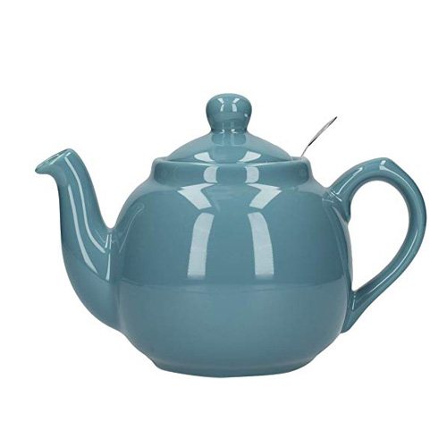 London Pottery 4 Cup Farmhouse Teapot with Filter - Aqua