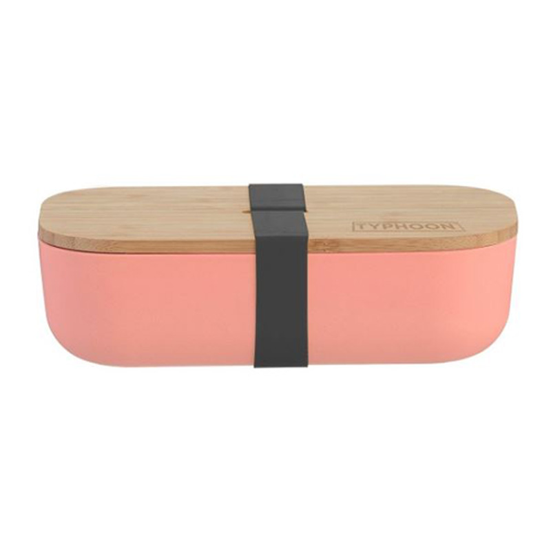 Typhoon Pure Small Bamboo Lunch Box - Pink