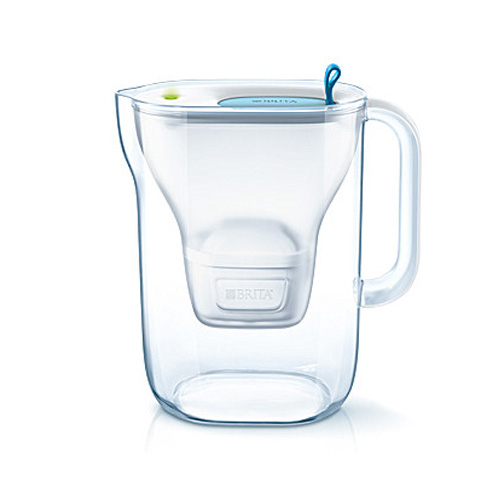 Brita Style Water Filter Jug 2.4L plus 1 Filter - Blue