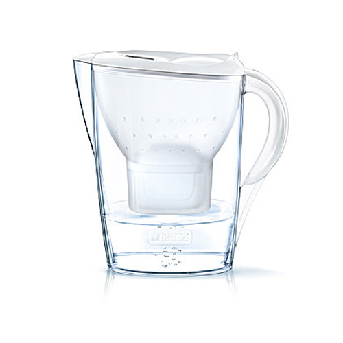 Brita Marella Water Filter Jug 2.4L plus 3 Filters - White