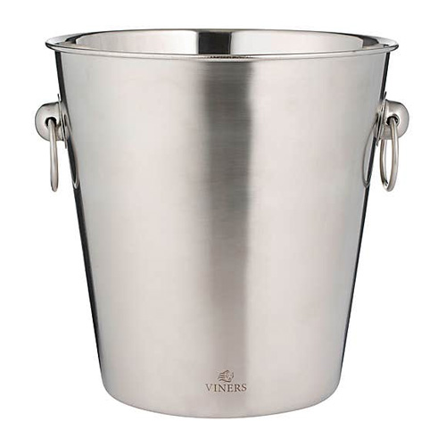 Viners Champagne Bucket - 4 Litre Stainless Steel Wine Bucket