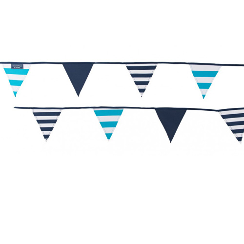 Navigate Summerhouse Bunting - Coast Blue Stripe