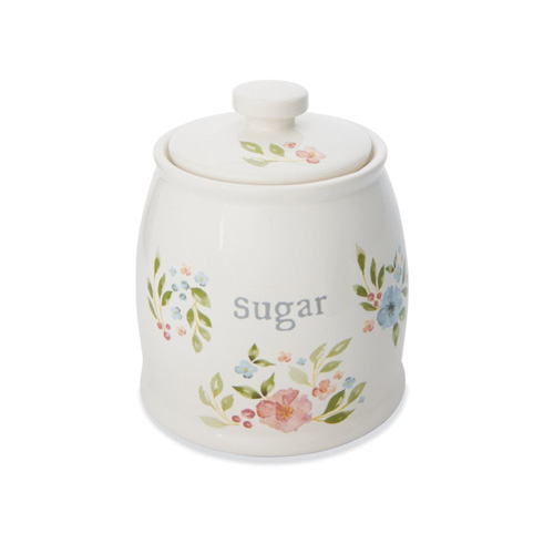 Cooksmart Sugar Bowl with Lid - Country Floral