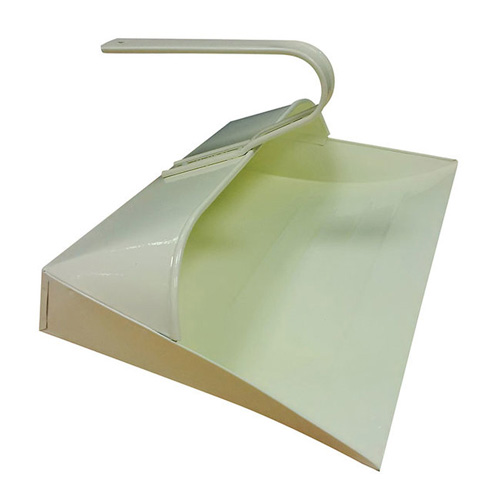 Leecroft Traditional Metal Dustpan - Cream