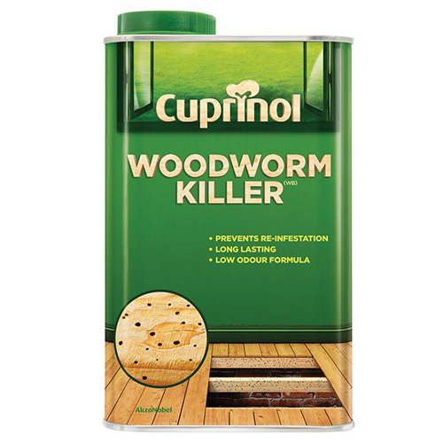 Cuprinol Woodworm Killer 5 litre
