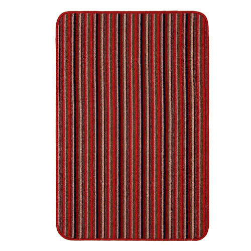 Dandy Machine Washable Doormat 100 x 67 - Red