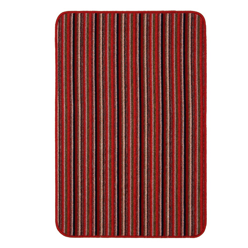 Dandy Machine Washable Doormat 80 x 50 - Red