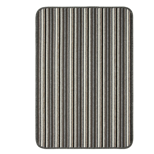 Dandy Machine Washable Doormat 80 x 50 - Silver