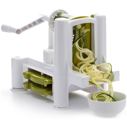 Dexam Spiral Cutter - Spiralizer with 3 Blades