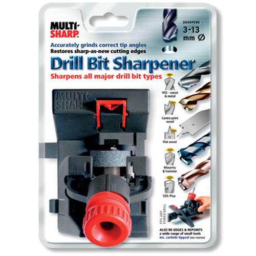 Multi-Sharp Drill Bit Sharpener - 3 - 13mm