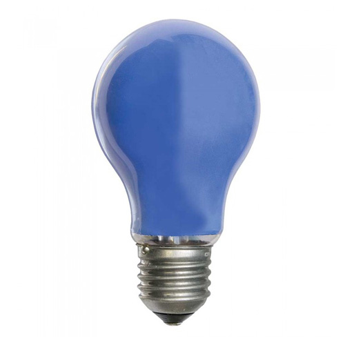 25W 240V ES Coloured Light Bulb - Blue