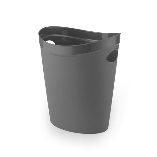 Addis FlexiBin Waste Paper Bin - Charcoal Grey
