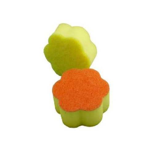 Minky Non Scratch Flower Scourers - Pack of 2