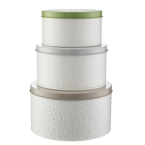 Mason Cash In The Forest Cake Tins - Set of 3