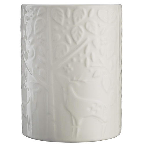 Mason Cash In The Forest Utensil Pot - Cream
