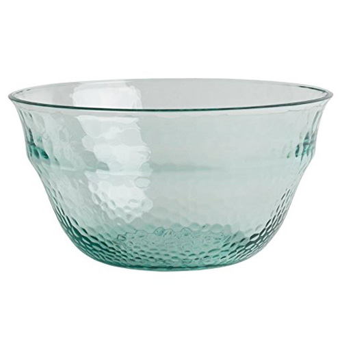 Navigate Recycled Glass Effect Salad Bowl - Polycarbonate