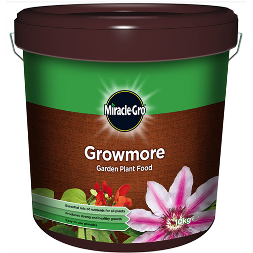Miracle Gro Growmore Garden Plant Food 10kg - Minimum qty of 2