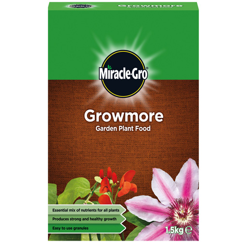 Miracle Gro Growmore Garden Plant Food 1.5kg - Minimum qty of 3