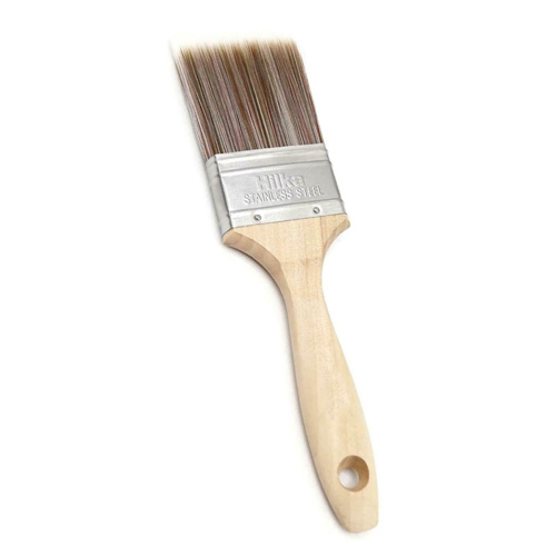 Hilka Wooden Synthetic Bristle Paint Brush - 2 inch