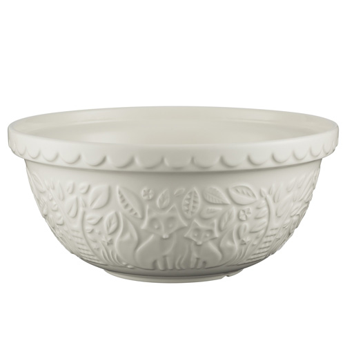 Mason Cash In The Forest Mixing Bowl - Cream 29cm
