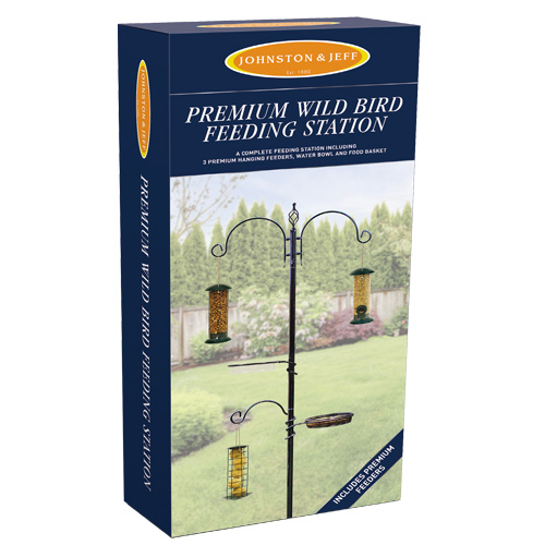 Johnston & Jeff Wild Bird Feeding Station - Premium
