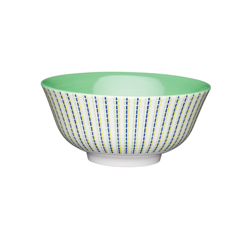 KitchenCraft Green Moroccan Style Ceramic Bowl