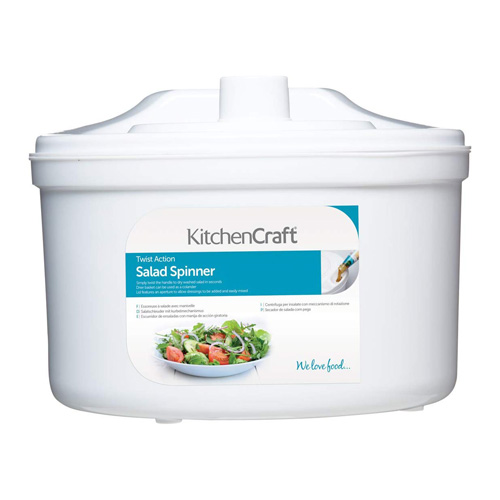 Kitchen Craft Fast Spin Salad Spinner
