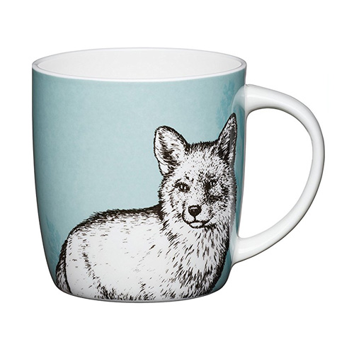 Bone China Barrel Mug Fox