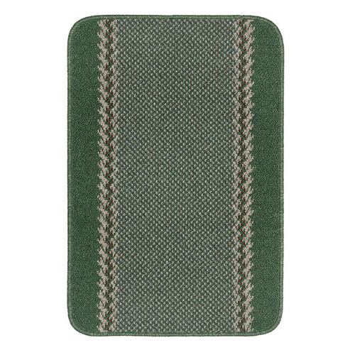 Dandy Kilkis Machine Washable Doormat 80 x 50 - Green