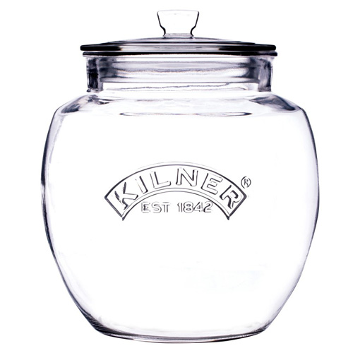 Kilner Glass Storage Jar with Push Top - 2 Litre - 0025742