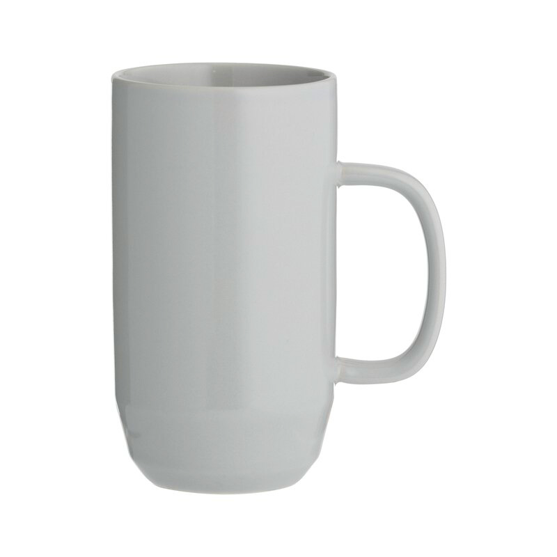 Typhoon Cafe Concept Latte Mug - Dark Grey 550ml