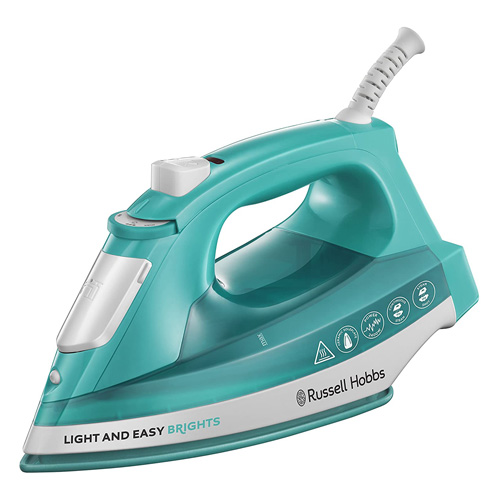 Russell Hobbs Light and Easy Steam Iron, 2400w, Aqua