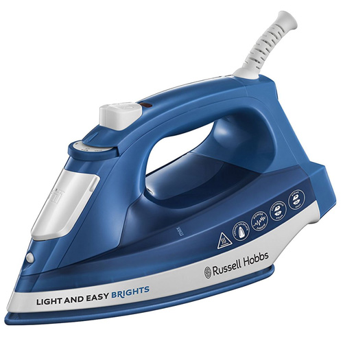 Russell Hobbs Light and Easy Steam Iron, 2400w, Sapphire