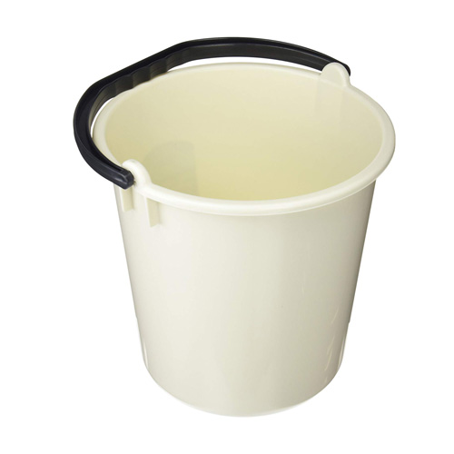 Addis 9 Litre Plastic Bucket - Linen Effect