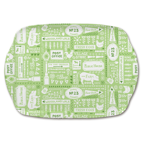Melamine Medium Tray M50 - Village Living