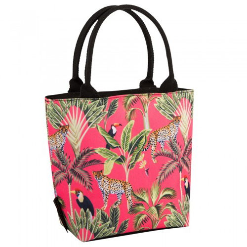 Navigate Summerhouse Insulated Lunch Tote - Madagascar Cheetah