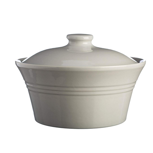 Mason Cash Classic Collection Casserole With Lid - Grey 2.5Ltr