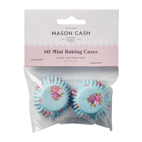 Mason Cash Mini Baking Cases - Pack of 60 Floral