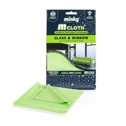 Minky Mcloth Glass and Window Cleaning Cloth