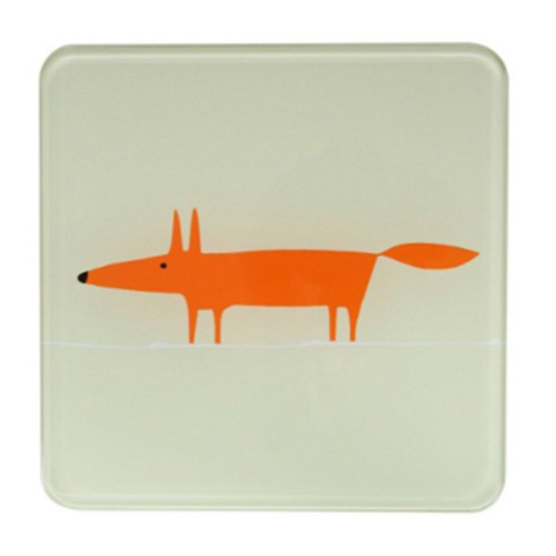 Dexam Scion Living Hot Pot Stand Stone Mr Fox - 20 x 20cm