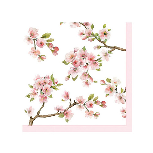 Stow Green Paper Napkins - Sakura - Pack of 20 x 3 ply