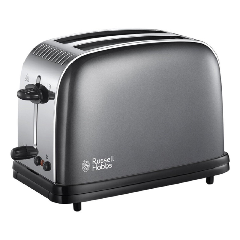 Russell Hobbs Colour Plus 2 Slice Toaster - Storm Grey 23332