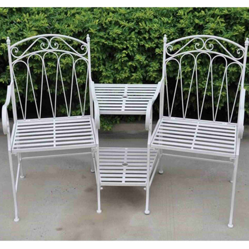 Royalcraft Romance Love Seat - Antique White.