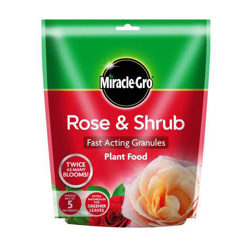 Miracle Gro Rose and Shrub Continuous Release Plant Food 750g
