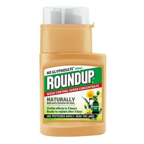 Roundup No Glyphosate Super Concentrate Weedkiller - 140ml