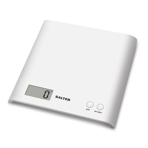 Salter Arc Electronic Kitchen Scale White 1066