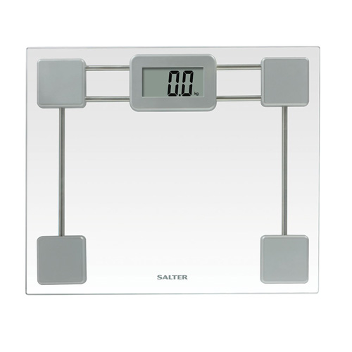Salter Compact Glass Personal Bathroom Scale - 9194