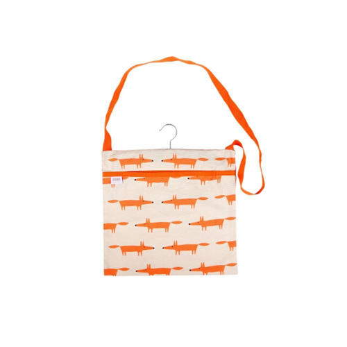 Dexam Scion Wipe Clean Peg Bag - Mr Fox Stone
