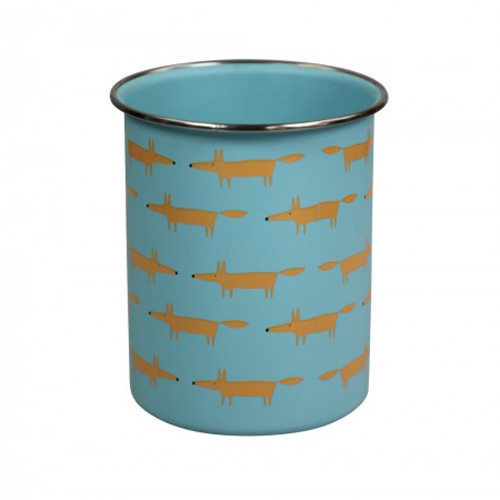 Dexam Scion Living Utensil Pot - Mr Fox Blue