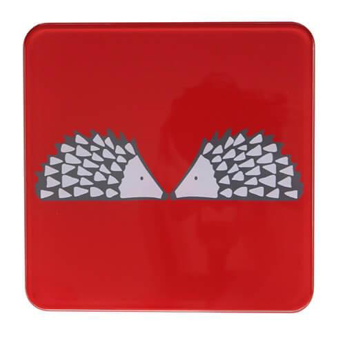 Dexam Scion Living Hot Pot Stand Red Spike - 20 x 20cm